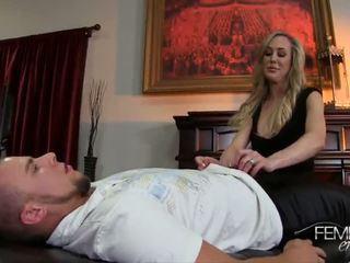 Brandi Love Femdom Handjob - Porn Video 091