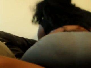 fat, ass, black
