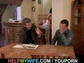 Pieprzyć mój żona podczas ja oglądaj