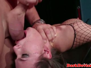 Sub Beauty Throated and Choked by Her Master: Free Porn a2