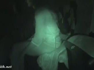 brunette, naked, movie, hidden cam