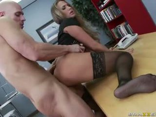 كبير الثدي, المثالي الجنس المكتب, اللعنة المكتب سخونة