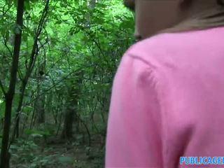 Publicagent innocent tìm kiếm thiếu niên fucking trong các woods
