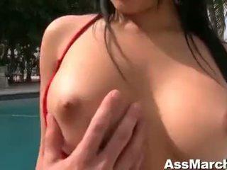 Abella anderson مارس الجنس في ال بعقب