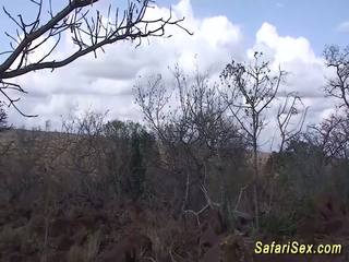 African Safari Babe Backseat Fucked, Free Porn 36