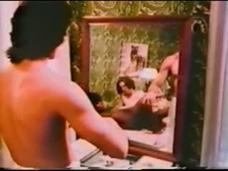 sexe de groupe, softcore, millésime, interracial