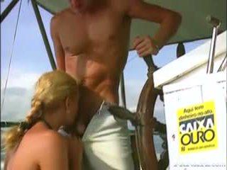 Aniko Jacqueline, Perfect Babe Fucking Over The North Sea
