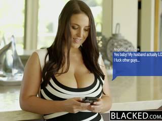 Blacked stor naturlig pupper australiansk babe angela hvit fucks bbc