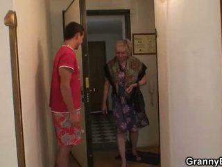 おばあちゃん, おばあちゃん, 成熟した, オールドプッシー