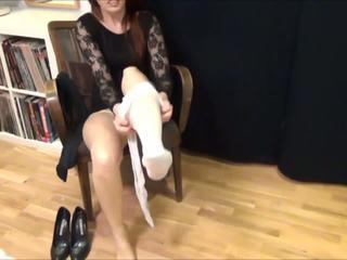 Latex Strumpfhose Im Alltag, Free Nylon Porn 24