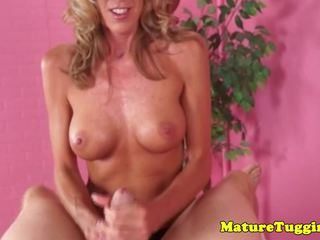 Bigtitted MILF Brynn Hunter Jerking Dick, Porn 66