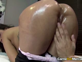 Carnedelmercado - Latina Fucks Hard and gets a Messy.