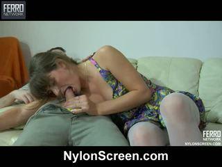 babes, nylon fétis, nylon porn movies