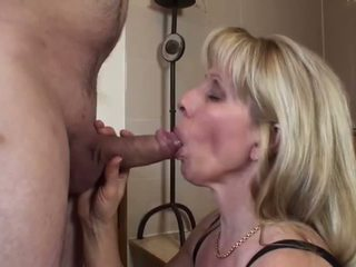 nice old, more cum in mouth, great cum swallow