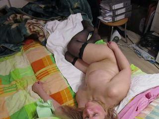 Russia Big Tit Blonde MILF Passionate Missionary Fuck