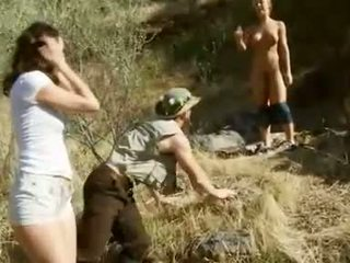 Outdoor Threesome With Nicole Aniston And Katie Jordan