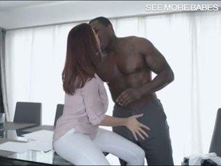 Big boobs babe Chanel Preston twat fucked by big black cock