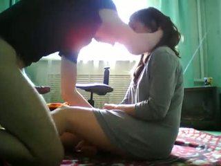 Shy Teen Gets Fucked By Her Boyfriend On Webcam