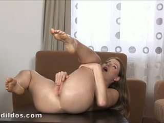 brunette, squirting, toys, orgasm
