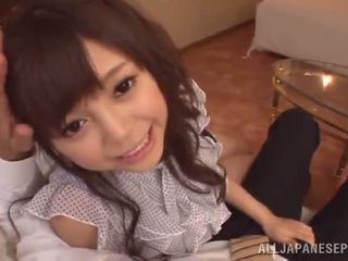 Rina Itou Has Her Trimmed Chinese Beaver Made Love Doggy Position