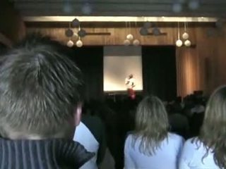 Norwegian H.s. Girl Running For Class President St