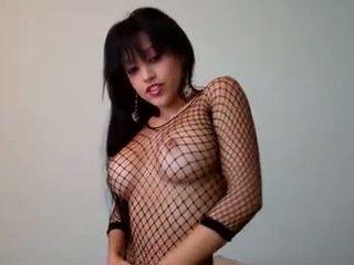कोकेशियान, सोलो लड़की, पूर्ण बड़े स्तन गुणवत्ता