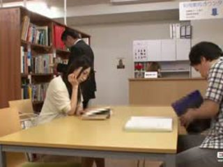 Naughty Japanese Students Fucked In The Library