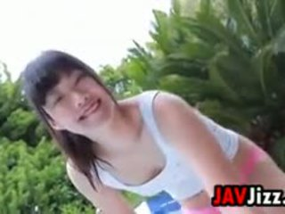 Japanese Teen Playing Outside Non Nude