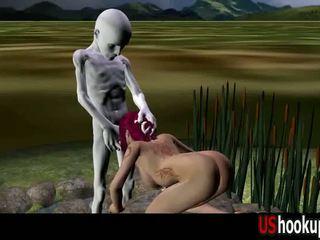 3d ruiva fodido por an alienígena parte