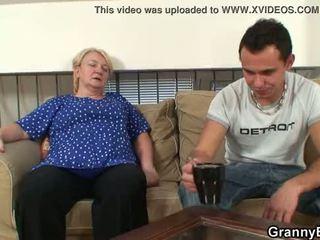 bestemor, bestemor, moden, gammel pussy