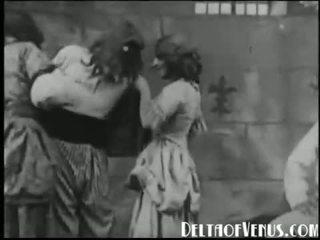 1920s アンティーク ポルノの bastille 日