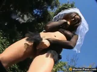 Tiffany Taylor: slutty bride