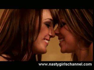 Cute Lesbians in Heat!