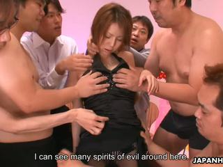 Rino Asuka Gets Banged Against Evil Spirits