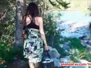 Canadian Pussy Outdoors! MILF Shanda Fay!