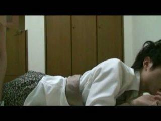 Koreaans student bondage
