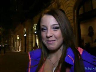 Cute chick Anita banged with stranger