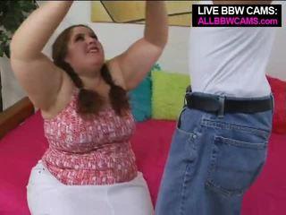Talented อ้วน ผู้หญิงไซส์ใหญ่ superstar swallows ส่วนหนึ่ง 1