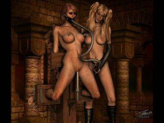 Vintaj erotik perhambaan artwork