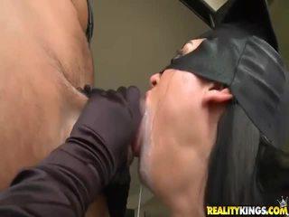hardcore sex, pěkný zadek, výstřik