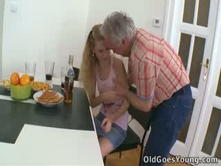 There is nothing quite like watching Rosy get drilled by this randy old bastard