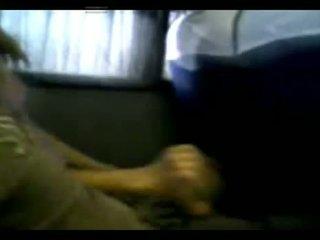 Handen och smäll jobb inuti den tåg i argentina - mv