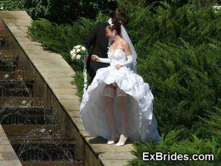زفاف يوم upskirts!