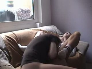 Private Video - German Girl Fucks With Older Man,