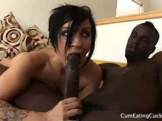 Tori lux και αυτήν σύζυγος και οι δύο πιπιλίζουν επί ένα μαύρος/η καβλί