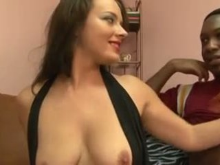 Hot brunette gets IR fuck and armpit love