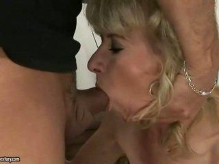 hardcore sexo, velho, avó