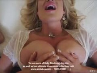 Cycate żona kelly madison titty fucks kutas i swallows sperma
