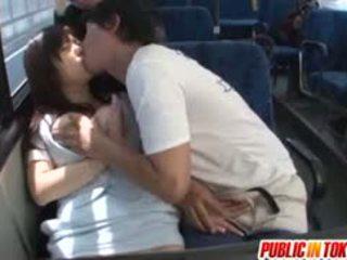 Yua kuramochi mamalhuda é fodido em o autocarro