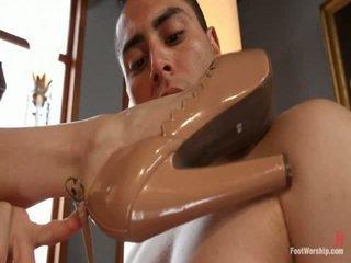 foot fetish, small tits, foot worship